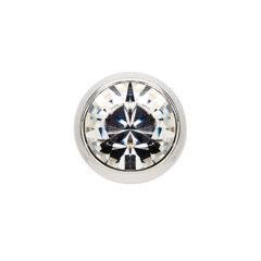 Element decorativ pentru inel, cu cristale Swarovski