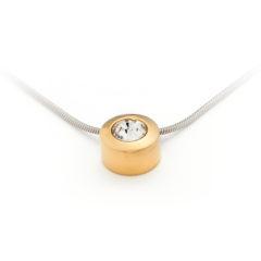 Pandantiv Energetix, magnetic, aur, cristal Swarovski