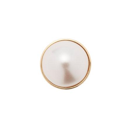 Element decorativ pentru inel, cu perlă Swarovski