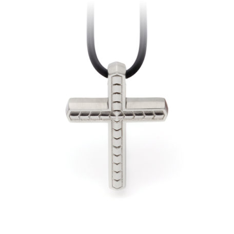 Pandantiv Energetix, magnetic, în formă de cruce, pentru bărbaţi
