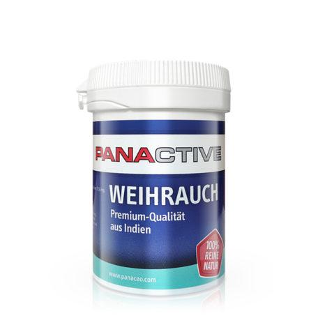 Panactive Weihrauch, supliment alimentar natural, tratează cu succes bolile şi afecţiunile inflamatorii, cu extract de tămâie