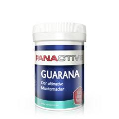 Panactive Guarana, supliment alimentar natural, energizează, creşte vitalitatea şi capacitatea de rezistenţă, cu extract de guarana