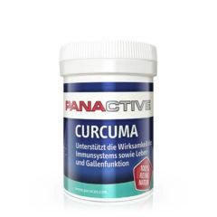 Panactive Curcuma, supliment alimentar natural, sprijină sistemul imunitar, funcţia hepatică şi biliară, cu extract de curcuma şi extract de piper negru