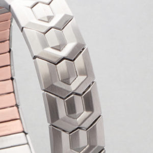 Brăţară Magnetică Energetix, pentru barbati, cu insertii de cupru, model flexibil