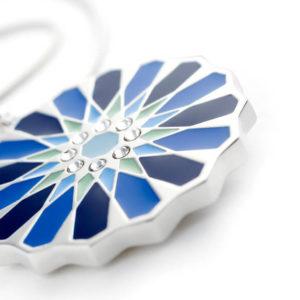 Pandantiv magnetic Energetix, cristale Swarovski