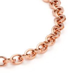 Colier magnetic Energetix, aur roz, terapeutic