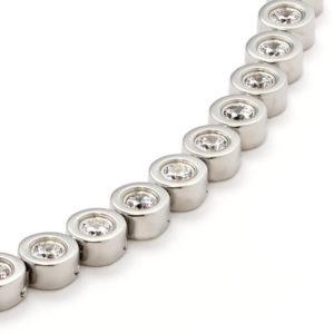 Colier magnetic Energetix, cu cristale de zirconiu cubic
